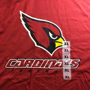 NFL Arizona Cardinals Football T-Shirt XL NEW